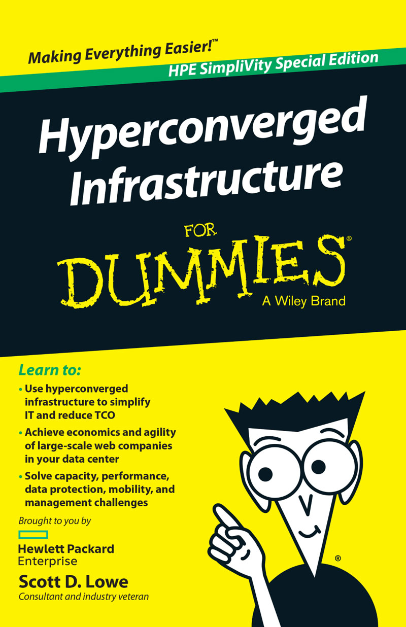 Hyperconverged SimpliVity ebook dummies HPE