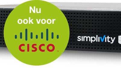 SimpliVity nu ook beschikbaar voor Cisco UCS