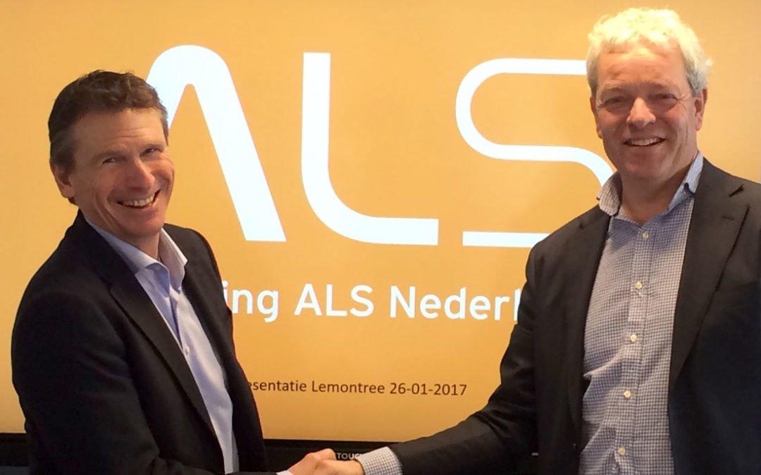 Stichting ALS presenteert zichzelf aan Lemontree