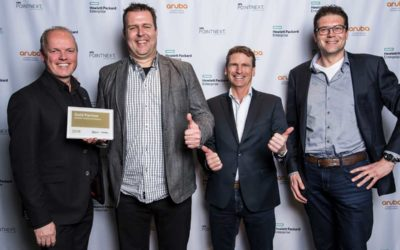 Lemontree neemt HPE Gold Partner Server Plaque in ontvangst