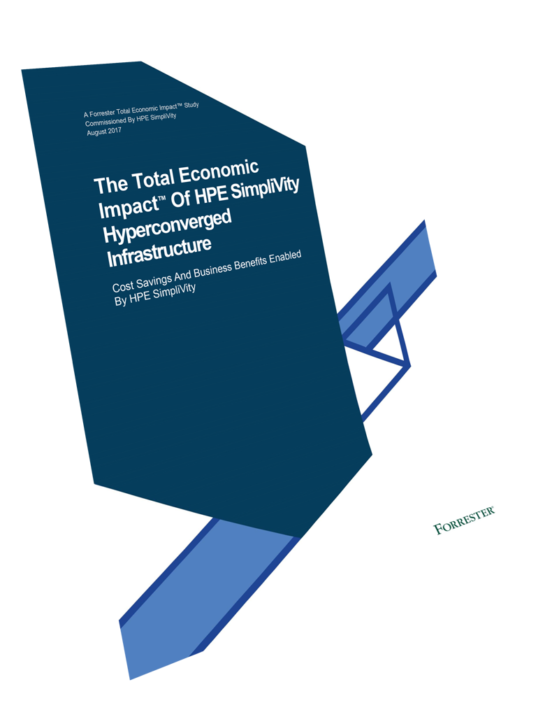 HPE Simplivity technical whitepaper