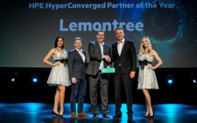 Lemontree HPE Hyperconverged partner of the year 2018